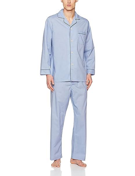 BROOKS BROTHERS 100009171, Pelele para Dormir para Hombre, Azul (BLU 400), XL: Amazon.es: Ropa y accesorios