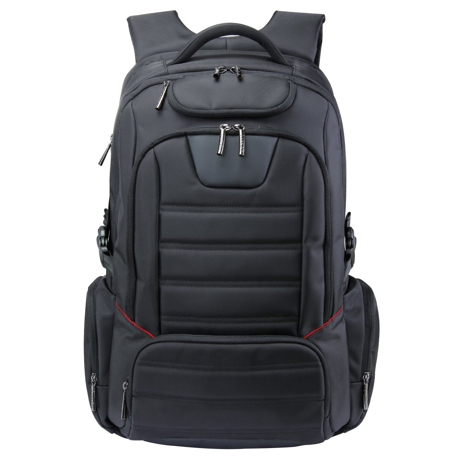 """Lifewit Men Large Laptop Backpack Water Resistant Travel School Business College Computer Bag Carry-on Fits Up to 17.3-18.4 Inch, Black (18.4"""" Black)"""