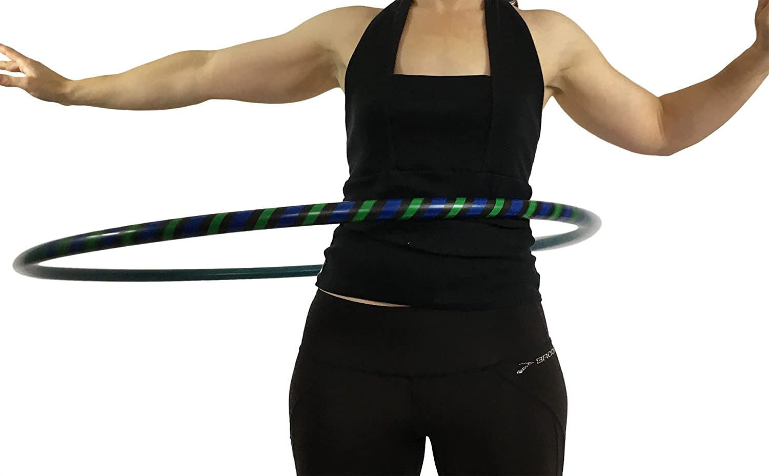 Amazon.com : Weighted Hula Hoop for Exercise and Fitness - MADE IN USA :  Exercise Equipment : Sports & Outdoors