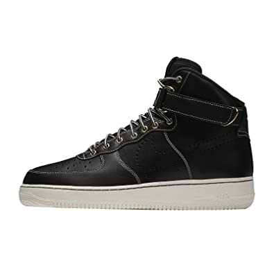 brand new a6919 ca18a Nike Air Force One 1 High 07 LV8 WB Sneaker Basketballschuhe SchwarzWeiß