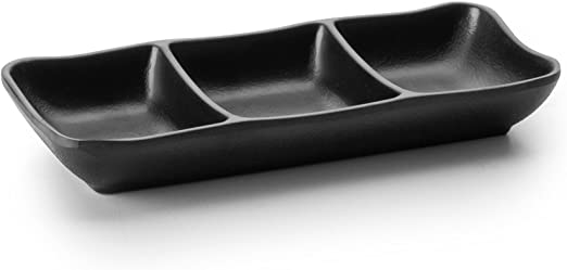 Lacor - 63380 - Mini Fuente Para 3 Salsas De Melamina 19x8x3 cm ...