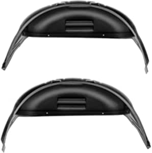 will not fit dually or w//5th wheel Rugged Liner Rear Wheel Well Liner WWD19 Fits 2019-2021 New Body Style Dodge Ram 1500//2500//3500