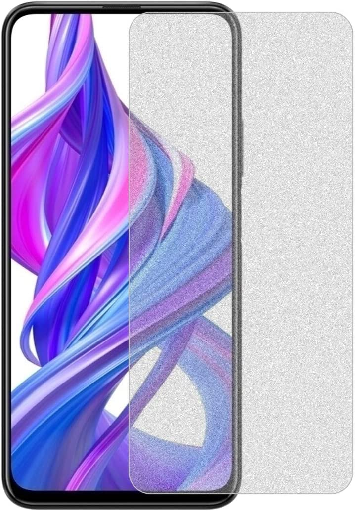 9X Pro GzPuluz Glass Protector Film 50 PCS Non-Full Matte Frosted Tempered Glass Film for Huawei Honor 9X No Retail Package