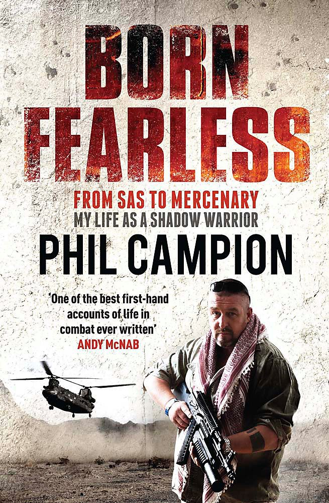 Download Born Fearless: From Kids' Home to SAS to Pirate Hunter - My Life as a Shadow Warrior pdf