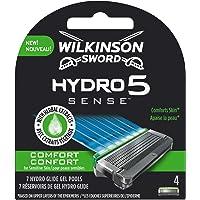 Wilkinson Sword Hydro 5 Sense Comfort scheermesjes voor heren, 4 stuks