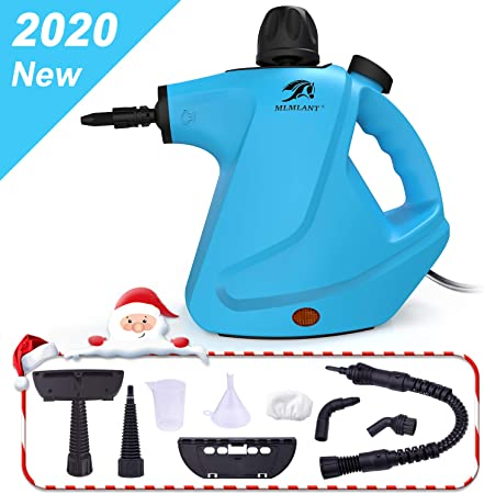 MLMLANT Handheld CO UK Pressurized Steam Cleaner - Best For Light Tasks