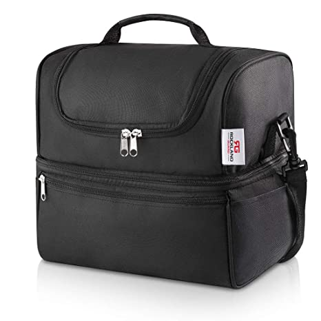 Image Unavailable. Image not available for. Color  Rockland Guard - Insulated  Meal Prep Bag Cooler ... 843ac2e670129