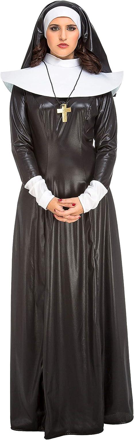 My Other Me Me-204153 Disfraz de monja para mujer, S (Viving ...
