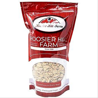 Hoosier Hill Farm Proteína vegetal texturizada (1 kg) Sustituto de carne vegetariana en tiras de TVP sin pollo sin sabor