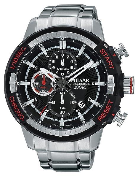 Pulsar PM3047X1 - Reloj de Pulsera Hombre, Acero Inoxidable, Color Plata: Amazon.es: Relojes