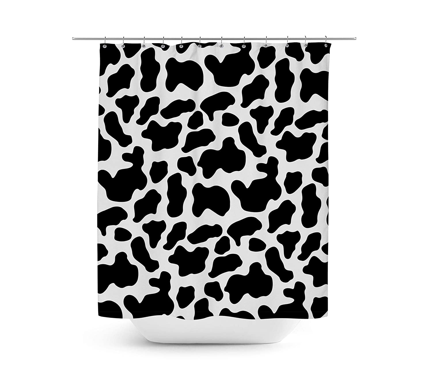 Amazon Queen Of Cases Woody Cowhide Shower Curtain