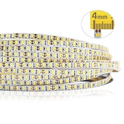 best service 06952 7880d 12VDC 4mm/0.16inch Wide Ultra-Narrow Flexible LED Strip Lights, 990  LEDs/roll CRI 85 SMD 3014 Non-Waterproof LED Tape Light, for Letter  Backlight, ...