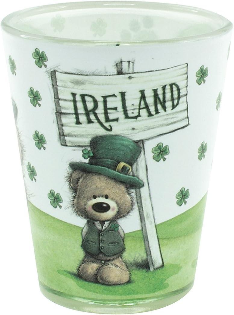 Paddy Bear Irish Designed Spoon Rest With Shamrock Design And Ireland Text