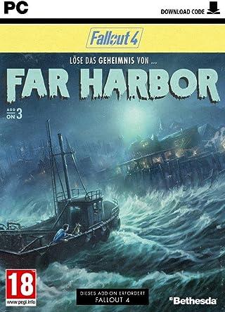 Fallout 4 Dlc 3 Far Harbor Dlc Only At Pegi German Version Amazon Co Uk Pc Video Games
