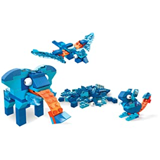 Mega Construx Inventions Blue Brick Building Set