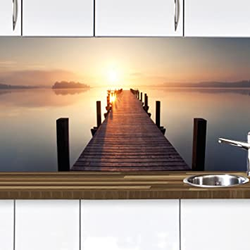Wandschutz Küche küchennischen deko set wand küchen spritzschutz wandschutz