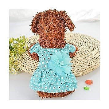 Pragmaticv Faldas para Perros Vestido para Mascotas para Perros ...