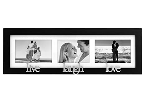 Malden 4112-30 4x6/3x5-Inch Live-Love-Laugh Wall Sentiments 3 ...