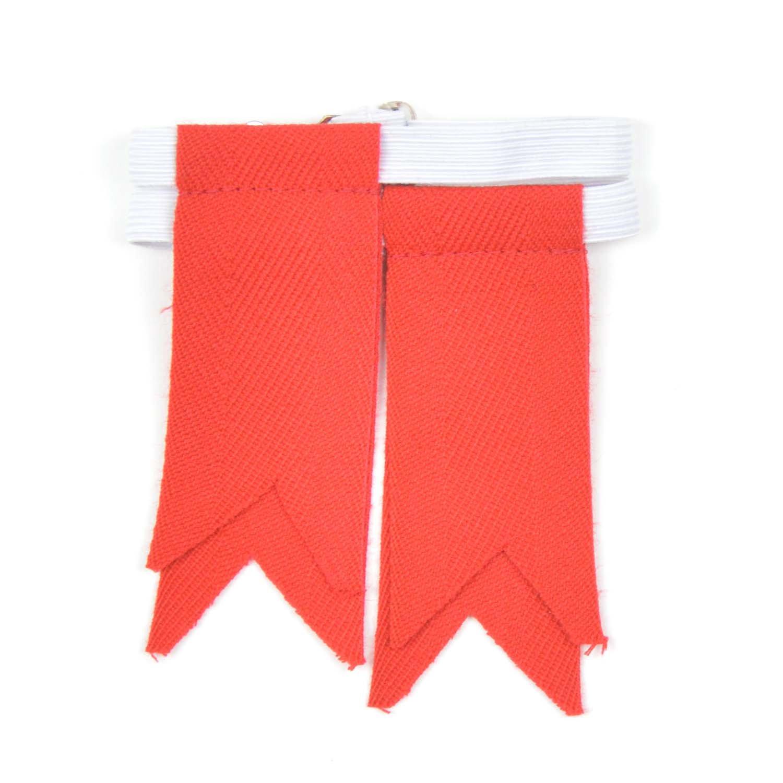 Boys Luxury Plain Kilt Sock Flashes BFLLRD