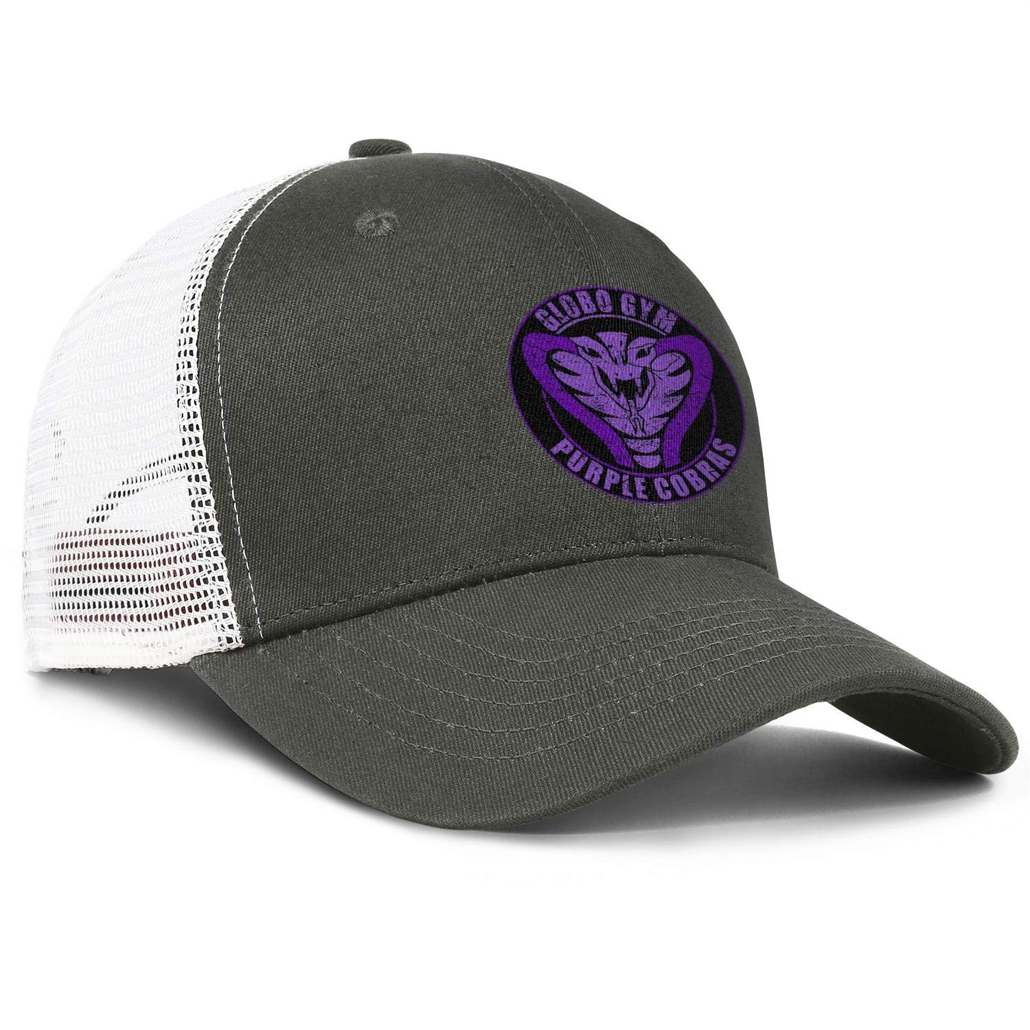Mens Luxury Ball Hats Globo Gym Purple Cobras Logo Women Visor Flat Cap