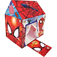 Marvel Spiderman Premium Play Tent House for Kids, 3-8 Years (Multicolour)