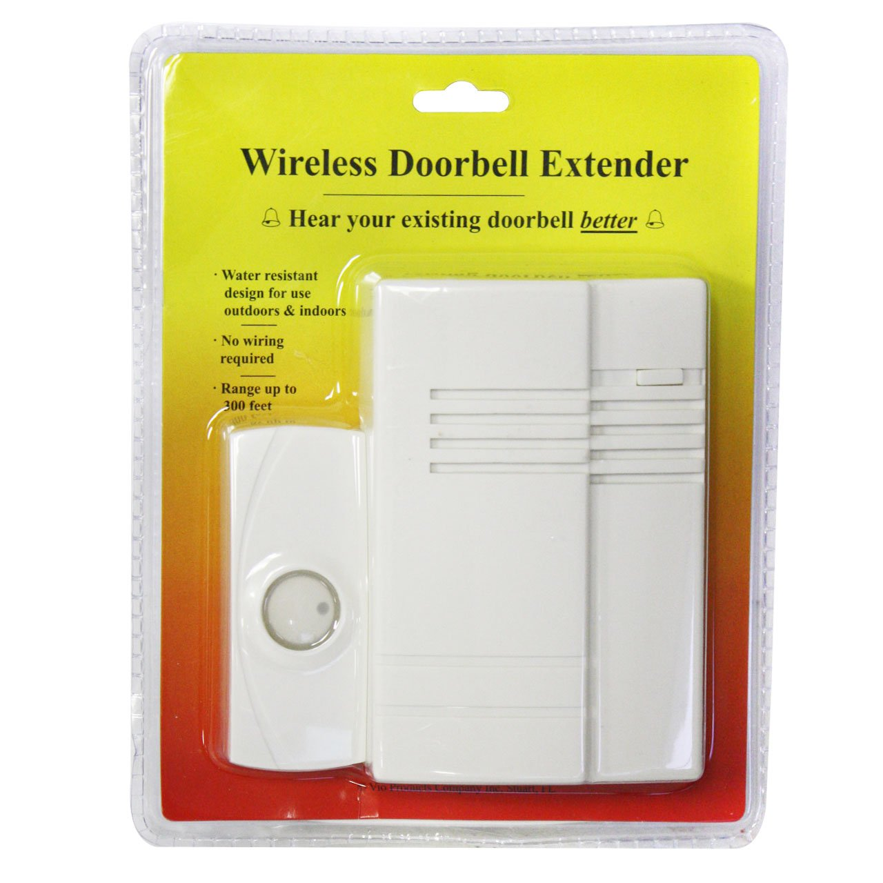 Wireless Indoor Outdoor Doorbell Extender Kits Wiring A Circuit Along With Button
