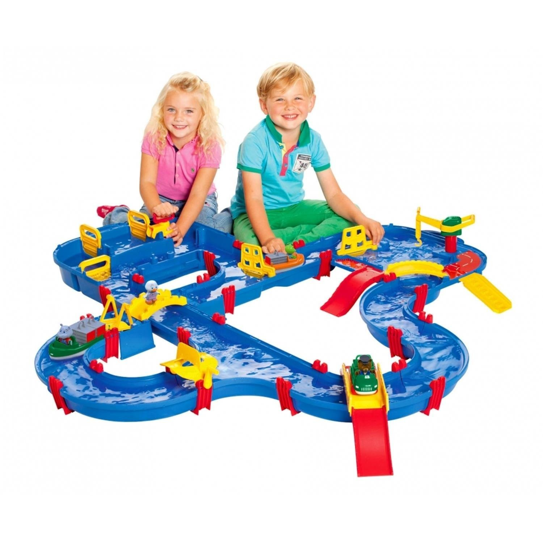 Aquaplay Waterbaan Amphie World 1650 Amazoncouk Toys Games