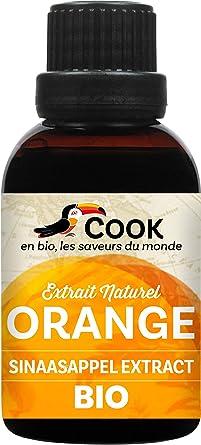 Cook Extrait Naturel Eau Fleur D Oranger Bio 50 Ml Amazon Fr Epicerie