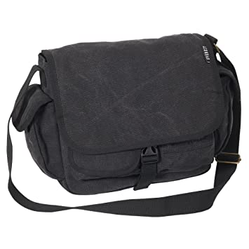 5b12b75d66 Everest Luggage Canvas Messenger