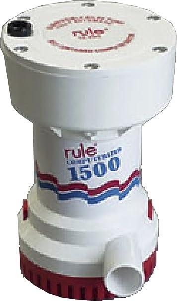 Boat Bilge Water Pump NEW Genuine Rule Bilge Pump 12 volt  1500 GPH Marine