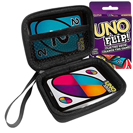 Amazon.com: FitSand Hard Case for Mattel Uno Flip Card Game ...
