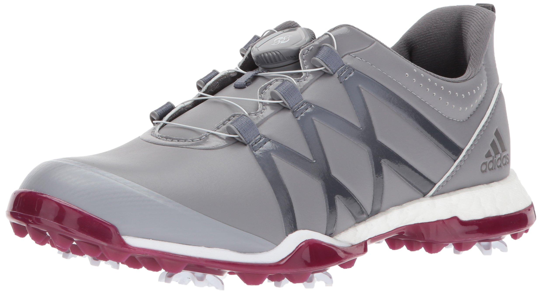 huge selection of 2c7b3 0b05f adidas Womens Adipower Boost BOA Golf Shoe, GreyMystery Ruby, 7.5 M US
