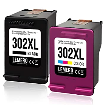LEMERO 302XL Reciclado Cartuchos de Tinta Reemplazar para HP ...