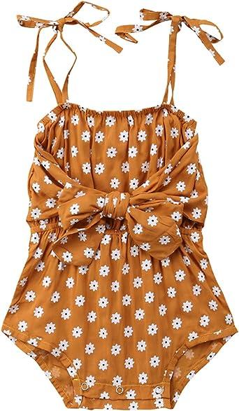 Newborn Infant Kids Baby Girls Romper Jumpsuit Bodysuit Sunsuit Clothes Outfits