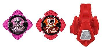 Power Rangers 43490 Ninja Acero Power Star Pack con lanzador, surtido: modelos aleatorios