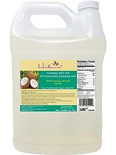 Amazon com: Verdana Food Grade MCT Oil - Kosher - 1 Gallon - Pure