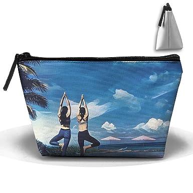 Amazon.com: Portátil de viaje Yoga pintura al óleo bolsa de ...