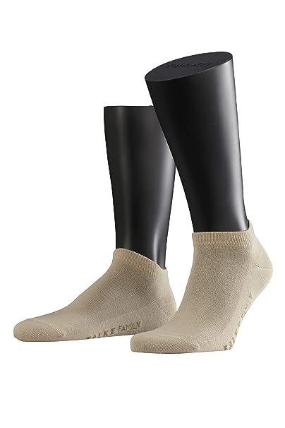 Falke - Calcetines de manga corta para hombre, color Arena, talla 39/42
