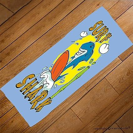 vroselv Custom toalla suave y cómodo playa towel-shark para T Shirt de impresión surfer