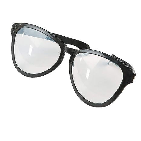 Amazon.com: Gafas gafas gigantes negras (1 par): Home ...