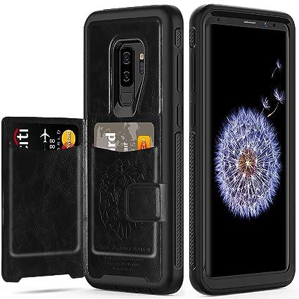 Amazon.com: Funda tipo cartera para Samsung Galaxy S9 Plus ...