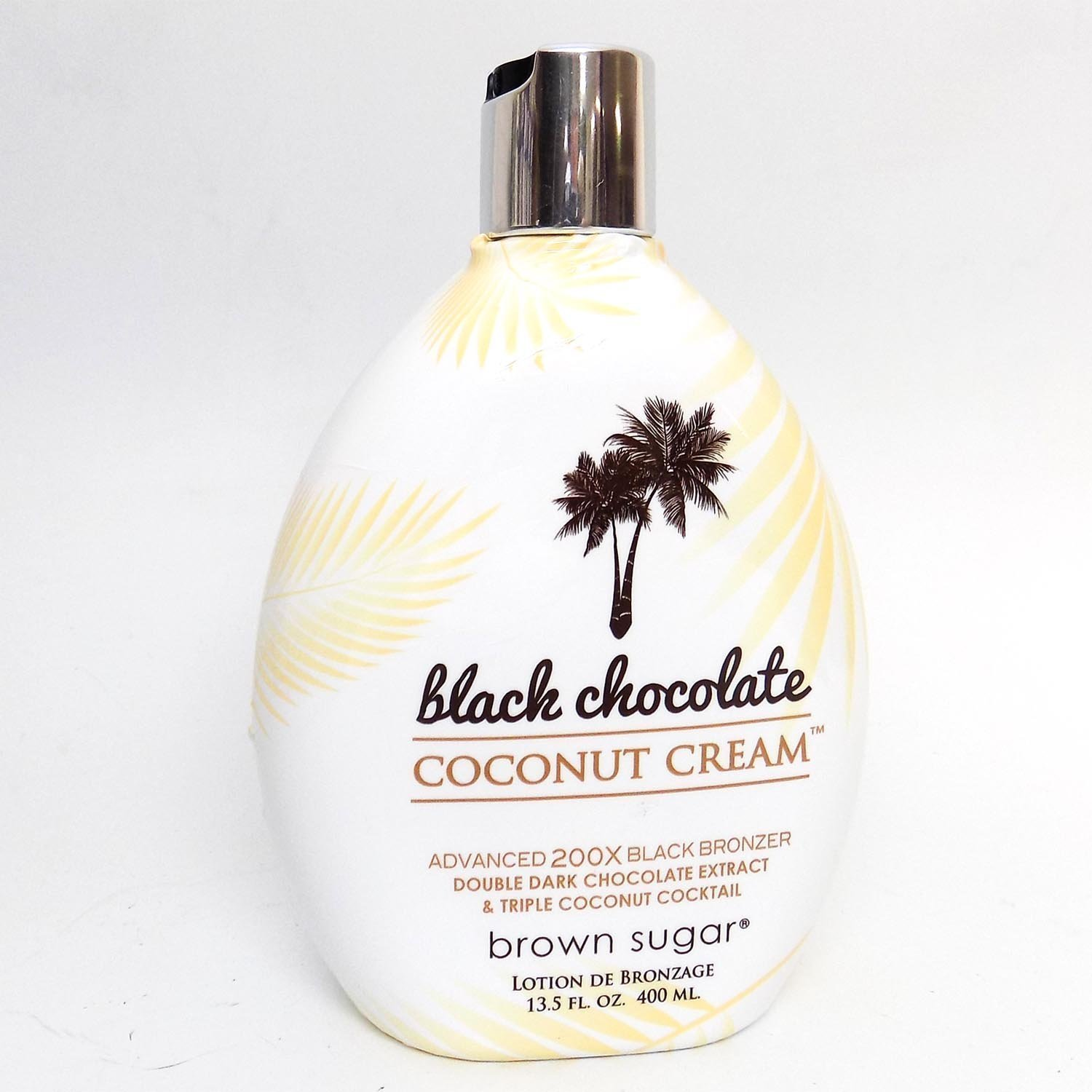 Brown Sugar BLACK CHOCOLATE COCONUT CREAM 200X Bronzer - 13.5 oz. Tan Inc.