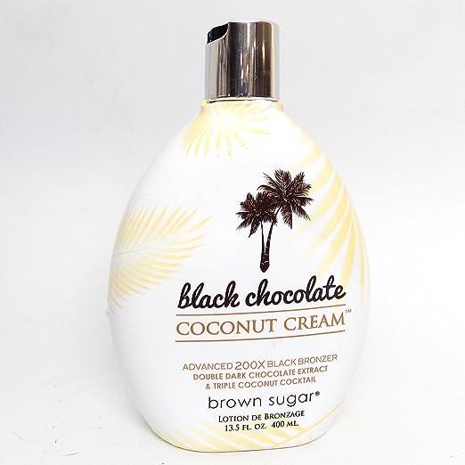 BLACK CHOCOLATE COCONUT CREAM 200X Bronzer