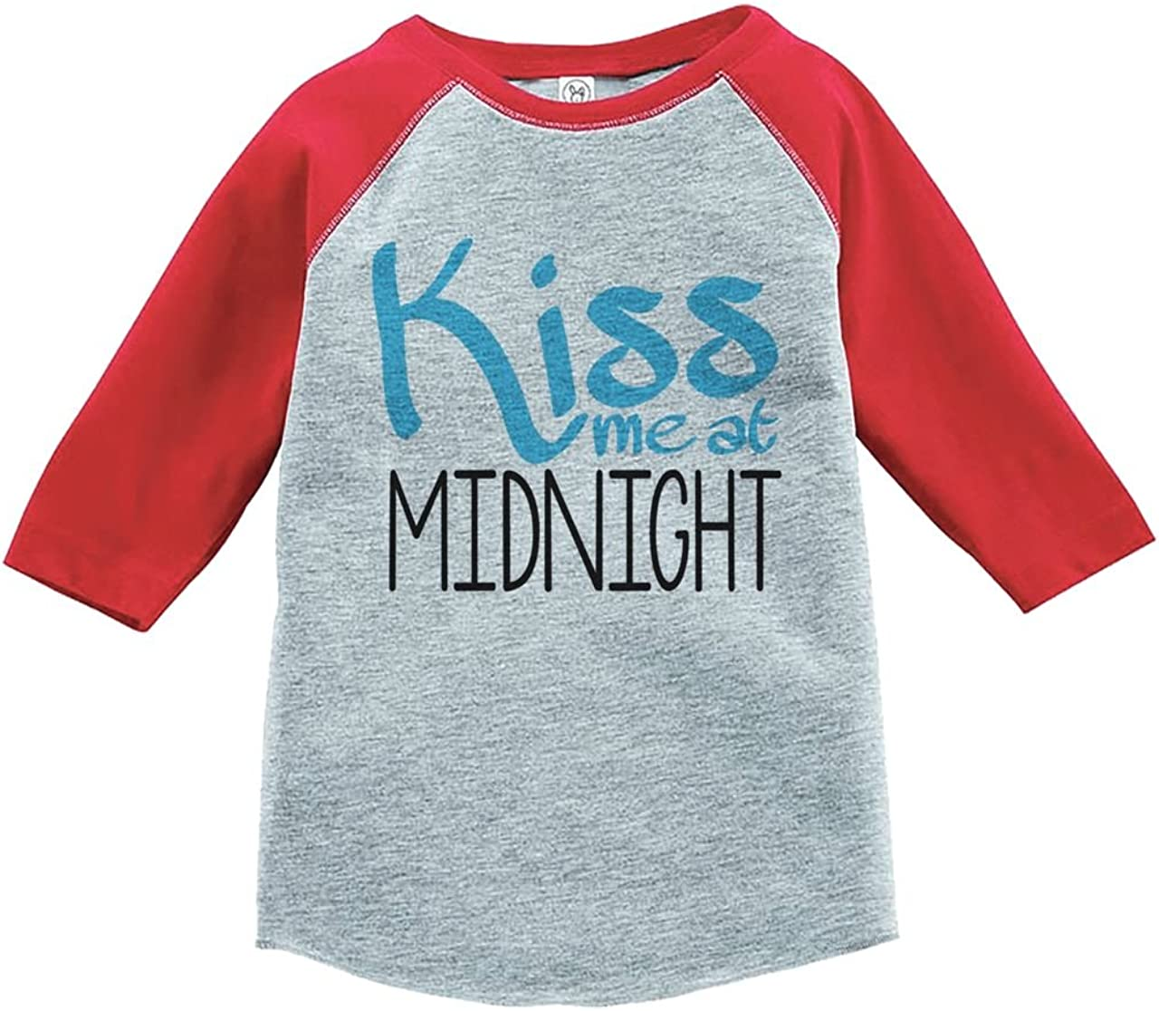 Custom Party Shop Kids Kiss Me At Midnight Happy New Year T-shirt