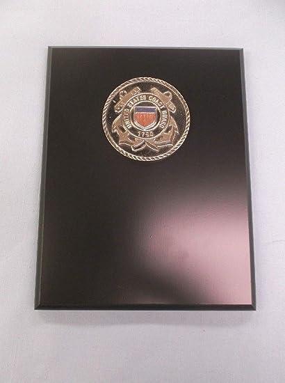 Amazon com : United States Coast Guard Metal Relief Plaque