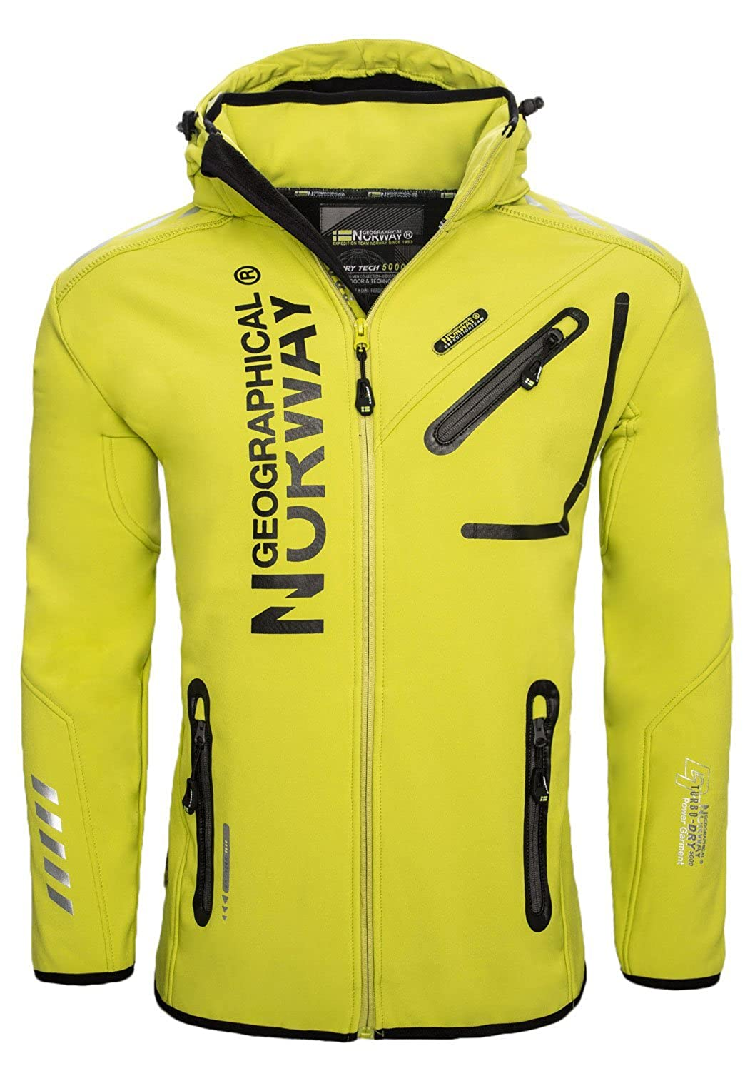 TALLA M. Geographical Norway Rivoli Men Chaqueta para Hombre
