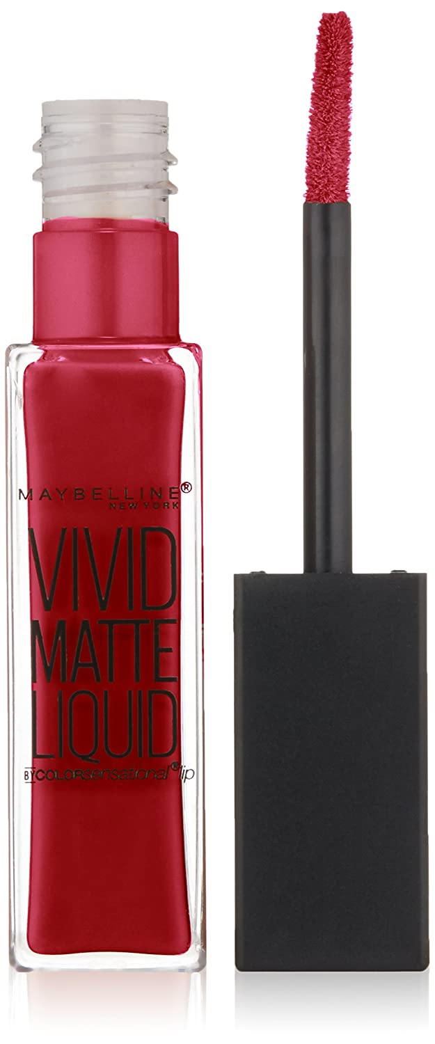 Maybelline New York Vivid Matte Color Sensational Liquid Lip Color, 5 Nude Thrill, 5 Milliliters