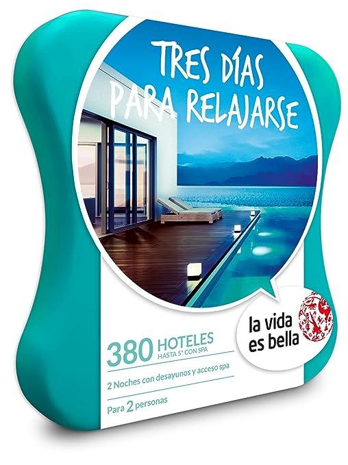 LA VIDA ES BELLA - Caja Regalo - TRES DÍAS PARA RELAJARSE - 380 hoteles hasta