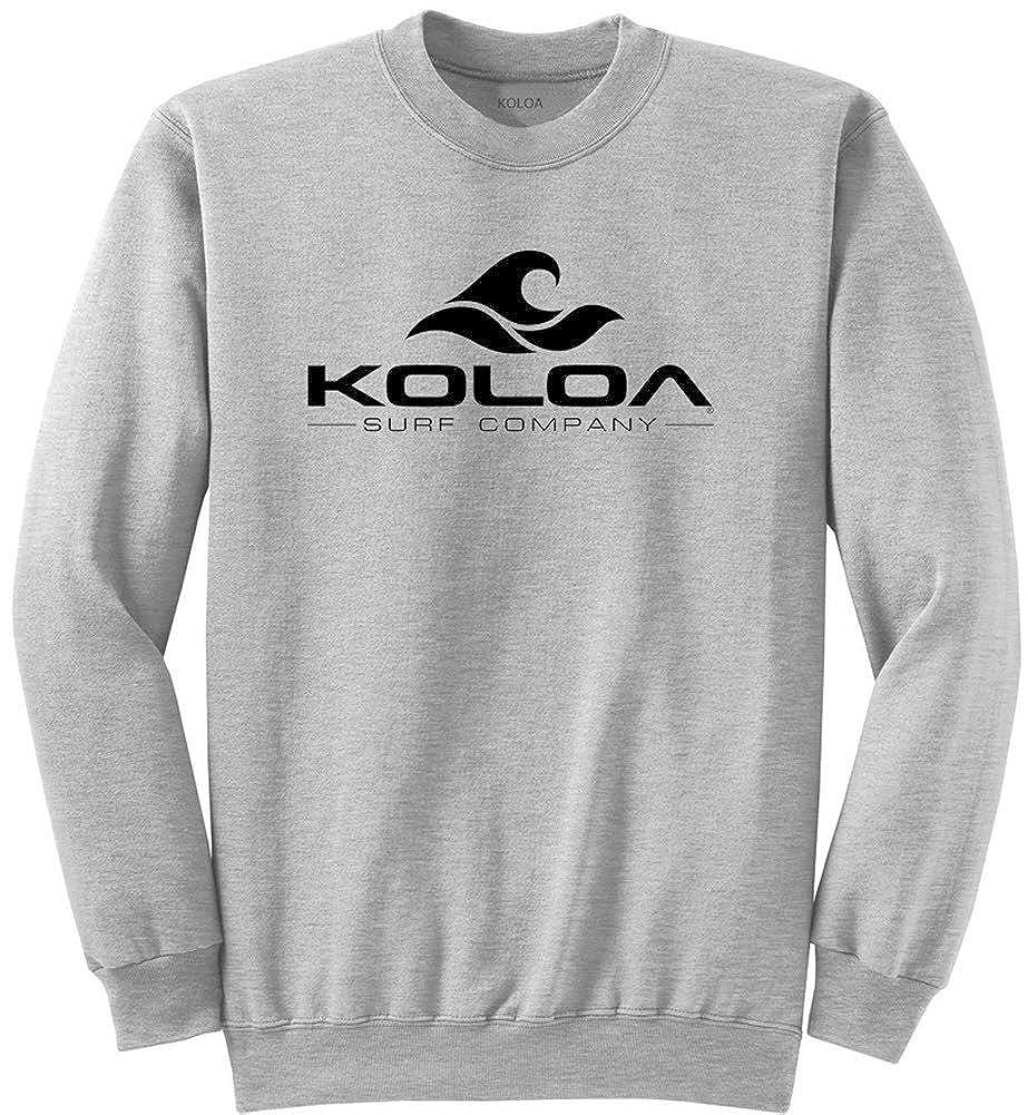 Koloa Surf Classic Wave Heavyweight Tall Crewneck Sweatshirts LT-4XLT
