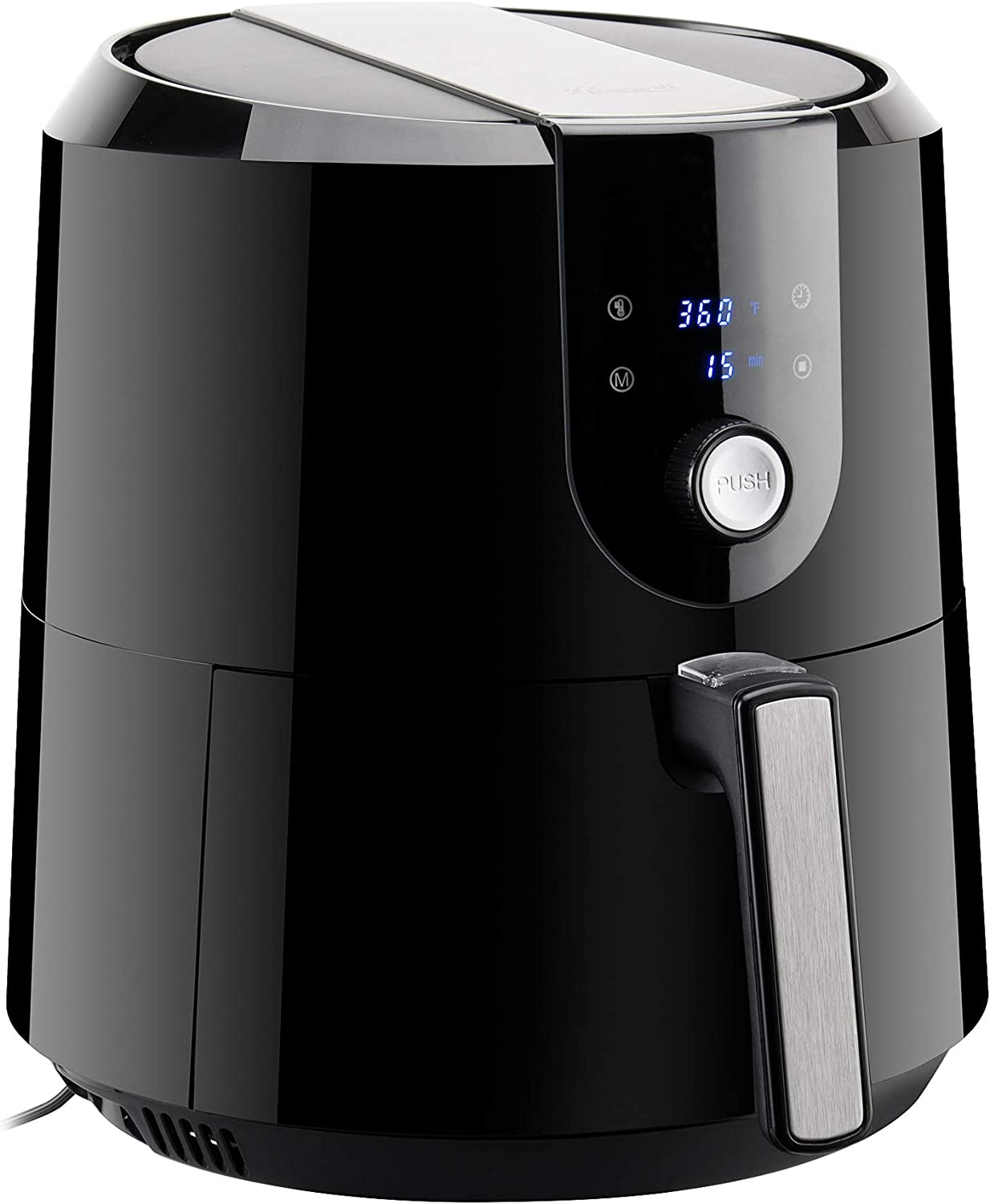 Rosewill RHAF-19001 XL Air Fryer 5.8-Quart (5.5-Liter) Extra Large Capacity with Temperature/Timer Settings and 7 Cooking Presets, 1800W Oil-Less Low-Fat Air Frying